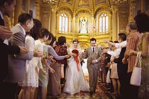 Wedding at Assumption Cathedral Bangkok