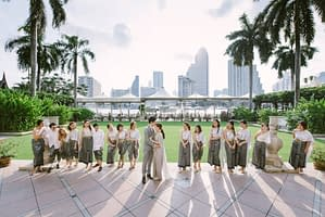 Engagement Ceremony at Jesters, The Peninsula Bangkok