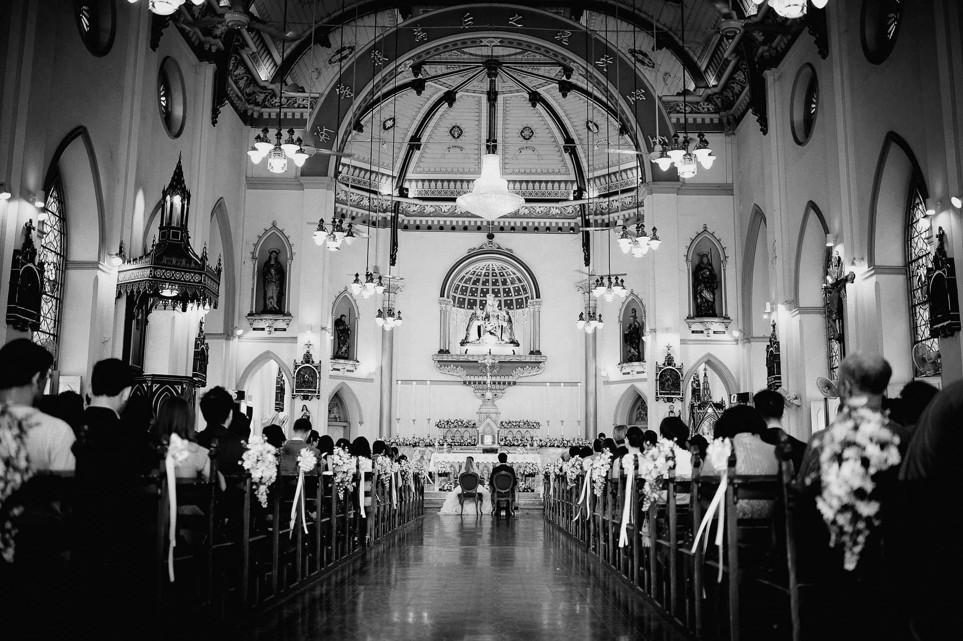 Wedding, Church Wedding, Christian Wedding, Assumption Cathedral