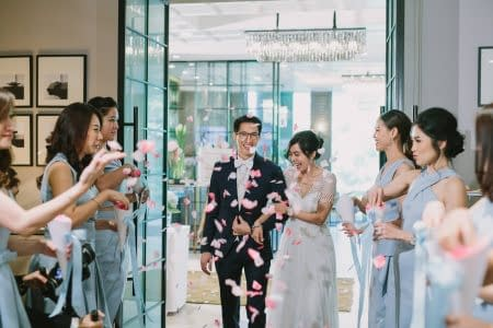 Wedding at Oriental Residence Bangkok