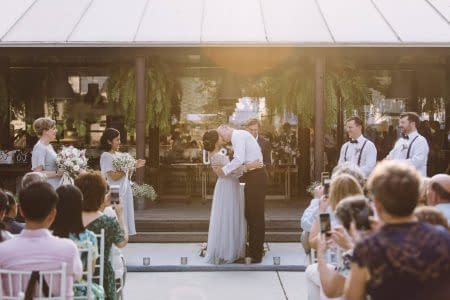 Wedding Ceremony at The Never Ending Summer Bangkok