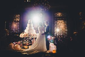 Wedding reception, Grand Hyatt Erawan