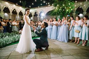 Outdoor Wedding at Benedict Studio