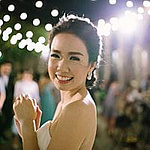 Portrait of the bride at Benedict Studio