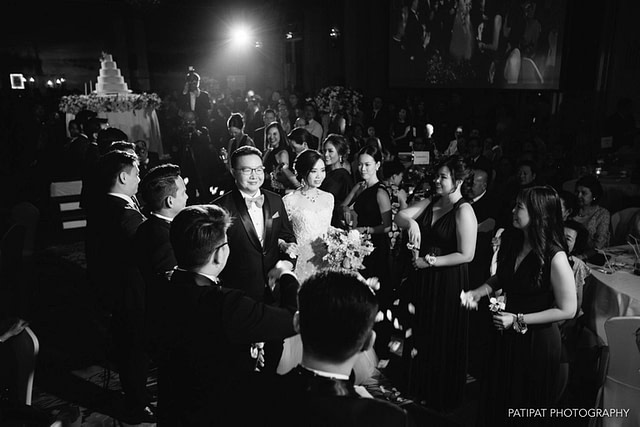 Wedding Reception, Mandarin Oriental
