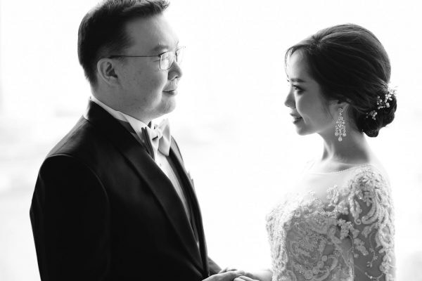 Wedding Reception, Mandarin Oriental, Portrait